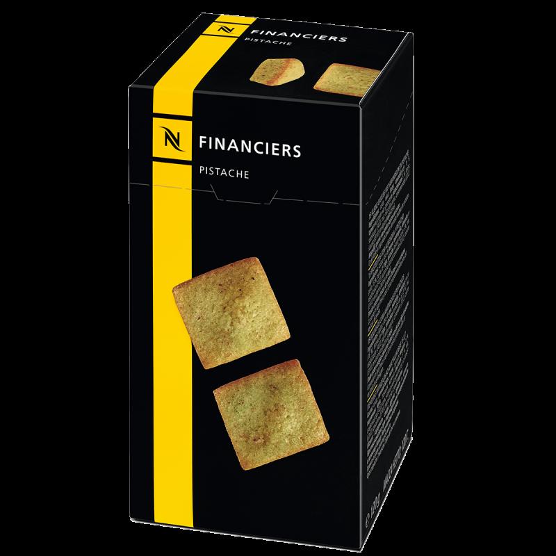 Financiers Pistache