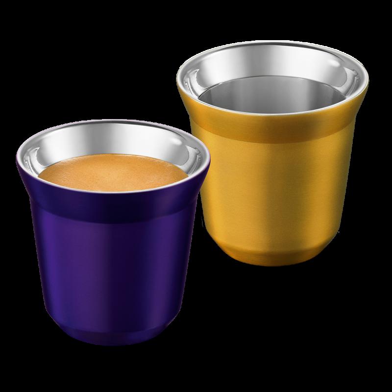 PIXIE Espresso чаши, Arpeggio & Volluto
